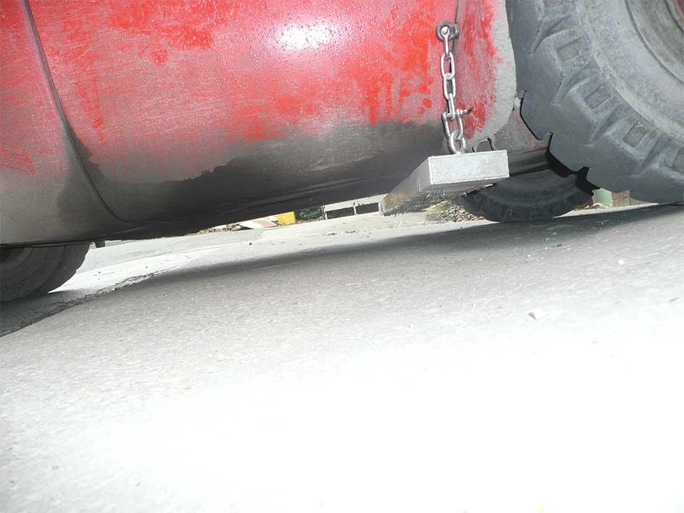 Forklift Magnet - Magnetic Forklift Sweeper - Greenwood Magnetics